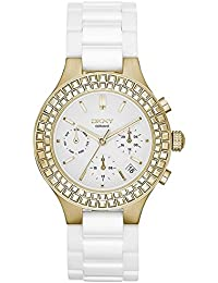 DKNY Damen-Armbanduhr Chronograph Quarz Keramik NY2224
