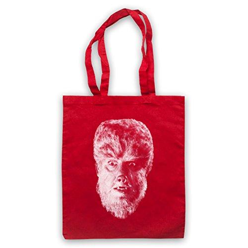 Inspire par Wolf Man Werewolf 1941 Officieux Sac d'emballage Rouge