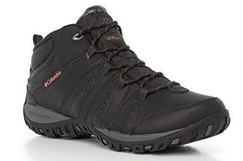 Columbia Woodburn Ii Chukka Wp Omni-Heat, Chaussures de Randonnée Hautes Homme noir