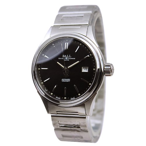 Ball Fireman Classic Ladies Automatic Watch, Stainless steel, NL2098C-SJ-BK
