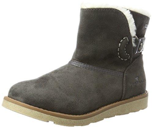 Tom Tailor Mädchen 3770203 Stiefel, Grau (Coal), 36 EU