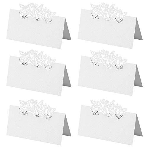 pinza para notas UEETEK 12 unidades de soportes para n/úmero de mesa o nombres con forma de coraz/ón