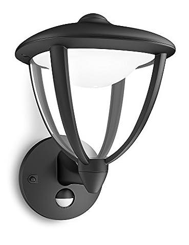 Philips luminaire extérieur LED applique montante avec détection Robin