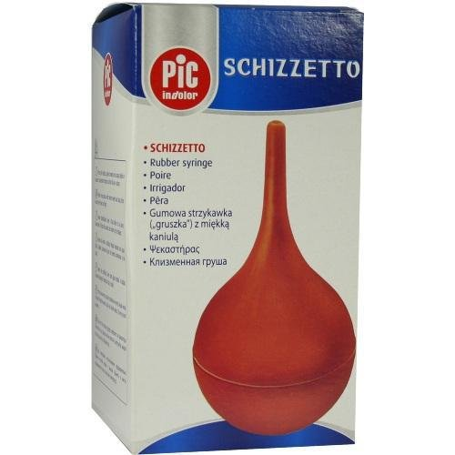 KLISTIERSPRITZE Gr.2 3/4 Ohrenb. 145 ml
