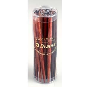 BRAUSE - 1 porte-plume laqué - couleurs assorties type bois