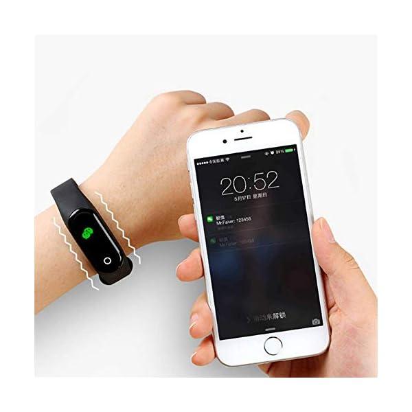 Reloj inteligente de Ango, pulsera de actividad deportiva, frecuencia cardíaca, tensiómetro de la tensión arterial… 5