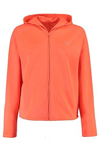 Orange Femmes Maisie Fit Zip Through Hoody Orange