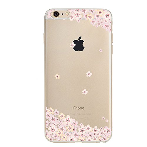 iPhone 6S Coque Silicone,iPhone 6S Coque Transparente,iPhone 6S Coque Antichoc,Coque Housse Etui pour iPhone 6 / 6S,EMAXELERS iPhone 6S Silicone Case Slim Gel Cover,iPhone 6 Coque en Silicone Ultra-Mi TPU 6