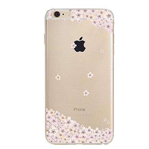 iPhone 6S Plus Bumper Coque,iPhone 6S Plus Fille Coque,iPhone 6S Plus Transparente Coque,Coque Housse Etui pour iPhone 6 Plus / 6S Plus,EMAXELERS iPhone 6S Plus Silicone Case Slim Gel Cover,iPhone 6 P TPU 6