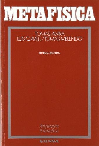 Metafísica (Iniciación filosófica) por Tomás Melendo Granados