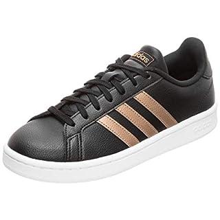 adidas Damen Grand Court Fitnessschuhe, Mehrfarbig (Negbás/Cobmet/Ftwbla 000), 39 1/3 EU