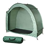 H&ZT Bike Cover Storage Tent Tricycle Cover Storage Shed Tent, Durable Polyester Waterproof Anti-Dust