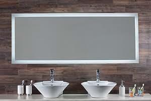 Miroir multimédia Orléans 140 cm avec Bluetooth de Saint-Gobain