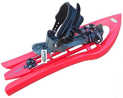 Morpho trimovalp raquetas, Unisex, Trimovalp, rojo y gris, talla única