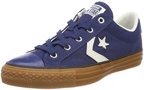 Converse Star Player Ox Sneaker Unisex Adulto Blau Navy/Egret/Honey E5S