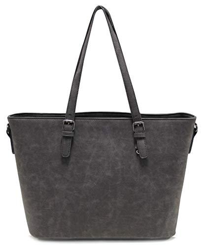 Vanessa & Melissa Damen Handtasche Kunstleder Shopper Shopping Bag