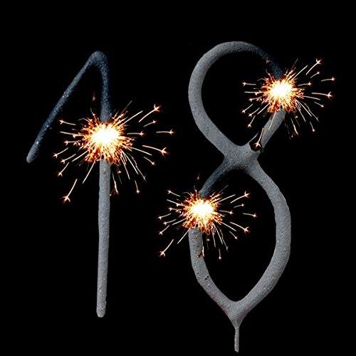 r Tortendeko Zum 18. Geburtstag, Geburtstagskuchen-Dekoration ()