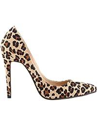 Xianshu Moda para Mujer Boca Baja Cerrado-Dedo del Pie Zapatos de Tacón Alto Bombas