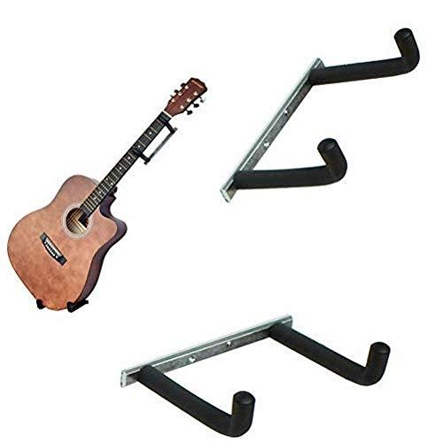 Swamp Wandhalterung Gitarre Kleiderbügel Ständer Nutzung auf Elektro-Gitarre, Akustik Gitarre, Violine, 66cm Ukulele, Schaumstoff gepolsterten Gitarre Haken