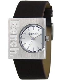 Bench BC0261SLBR - Reloj analógico de mujer de cuarzo con correa de plástico marrón