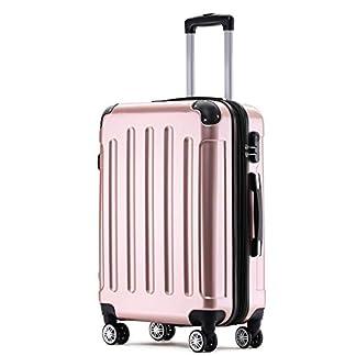 BEIBYE-Hartschalen-Koffer-Reisekoffer-Trolley-Rollkoffer-mit-Zahlenschloss-und-4-Zwillingsrollen