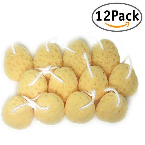 12 Pack. Esponjas para bebés.12 paquetes con 1 esponja para bebés recién nacidos. 12x10x5 cm