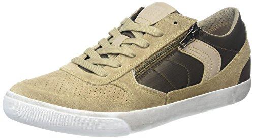 Geox Herren U Box C Sneaker, Beige (Sand/Brown), 41 EU