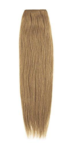 American Dream Extensions capillaires 100% cheveux humains 40,6 cm de qualité supérieure Couleur 7B – Blond Chaud