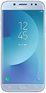 Samsung Galaxy J5 DUOS Smartphone (13,18 cm (5,2 Zoll) Touch-Display, 16 GB Speicher, Android 7.0) blau