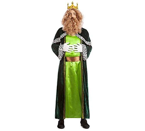 Imagen de disfraz rey mago gaspar talla m l