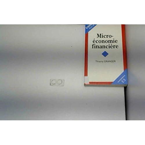 Microéconomie financière