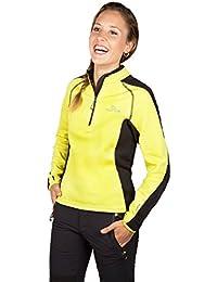 Grifone Musala - Camiseta para mujer, color amarillo, talla XL