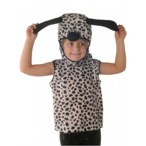 Tabard Child Dalmation Dog 3-5 (Kostüme Für Dalmation Erwachsene Dog)