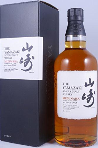 Suntory Yamazaki Mizunara Bottled 2013 48% 70cl (unboxed)