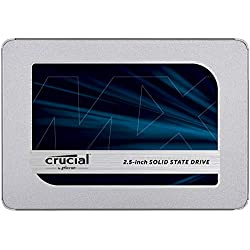 Crucial MX500 500GB SATA 6.0Gb/s 2.5-inch 7mm Internal SSD (CT500MX500SSD1)