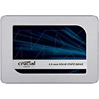 Crucial MX500 CT500MX500SSD1 SSD Interno, 500 GB, 3D NAND, SATA, 2.5 Pollici