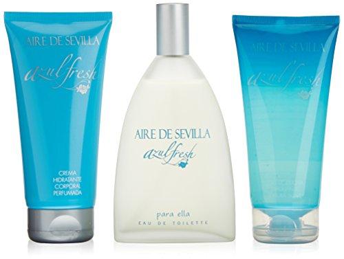 Aire De Sevilla Azul Fresh Estuche (150 V + Gel + Crema)