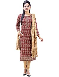 Vastra Vinod Women's Casual Wear Popular Cotton Ethnic Set