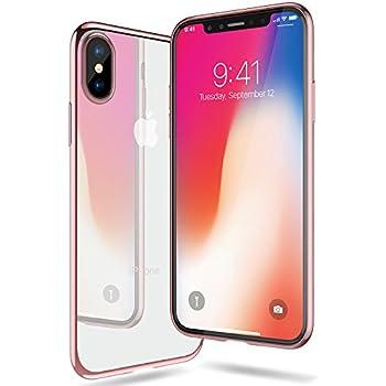 IPhone X Hulle TORRAS Silikon Durchsichtig Ultra Dunn Schutzhulle Transparent Handyhulle Kratzfest Klar