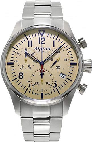 Alpina Geneve Startimer Pilot Quartz Chronograph AL-371BG4S6B Cronografo uomo