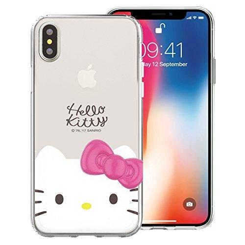 Hello Kitty Sanrio Apple (Süße Sanrio Jelly Case für Apple iPhone X, Face Jelly Hello Kitty (iPhone X))