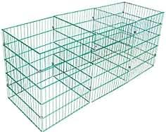 Aufbewahren & Ordnen Laub & Rasenschnitt Komposter Hexagon über 1.700 Liter Füllvolumen grün 5Engel