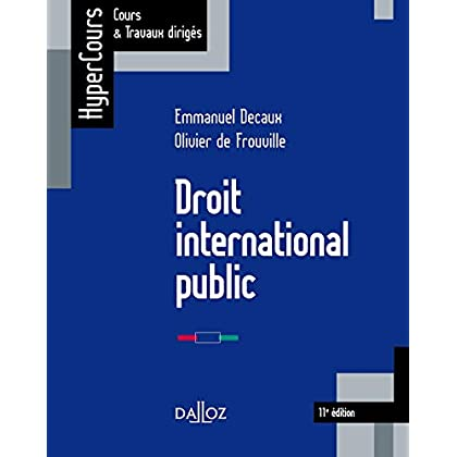 Droit international public - 11e éd.