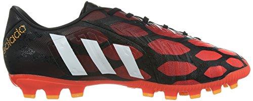 adidas P Absolado Instinct Ag, Chaussures de football homme Schwarz (core black/core white/solar red)