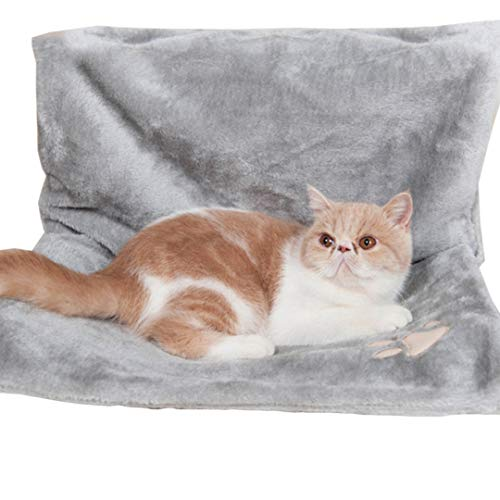 Authda deluxe rimovibile pet gatto cane letto robusto durevole appeso amaca stile termosifone culla letto per piccoli animali gatto gattino amaca style radiatore culla letto per piccoli animali gatto