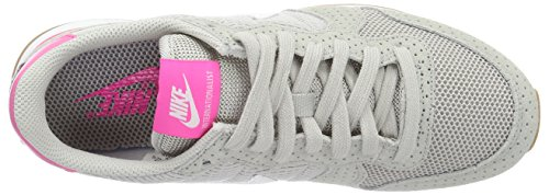 Nike Wmns Internationalist, Scarpe da Corsa Donna Multicolore (Grau/Weiß/Rosa)
