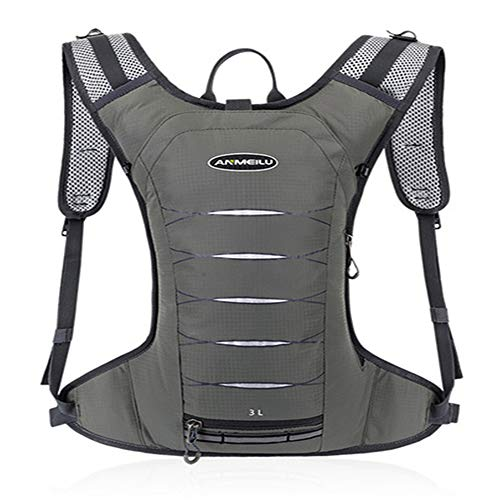 Stuhl-arm-fach (TnXan 3L Camping Trinkrucksack 2L Wassersack Outdoor Sport Laufen Marathon Radfahren Rucksack Wandern Trinkblase)