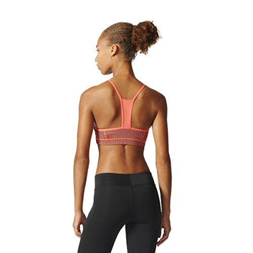 Adidas Strappy Pr2, reggiseno sportivo da donna Arancione (Corsen)