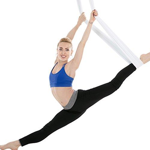 Hamaca yoga aereo elástica anti-gravedad, correa...