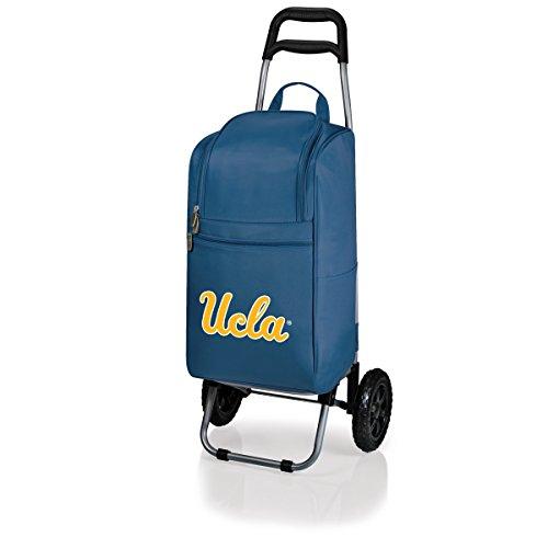 Michigan Trolley (Picnic Time NCAA isoliert Warenkorb Kühler mit Rädern Trolley, Unisex, Navy)